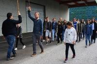 Marschierprobe für Jungsmusikanten - 2017